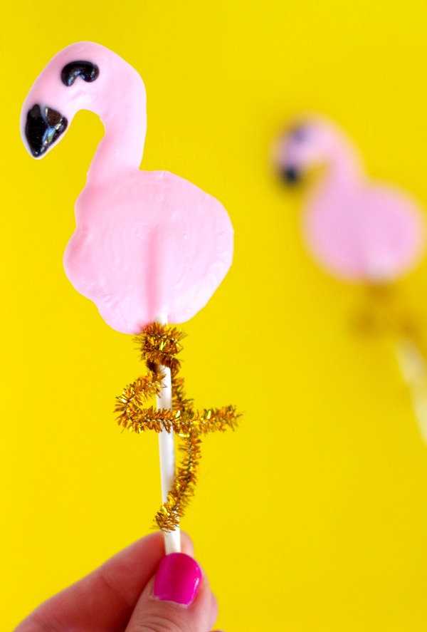 Adorable Flamingo Chocolate Pop
