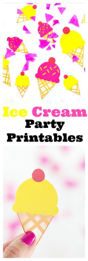 Ice Cream Party Printables