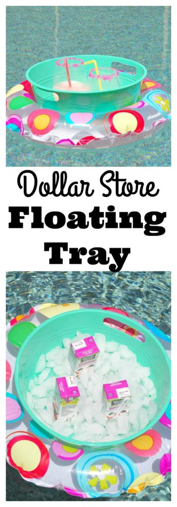 Dollar Store Floating Tray