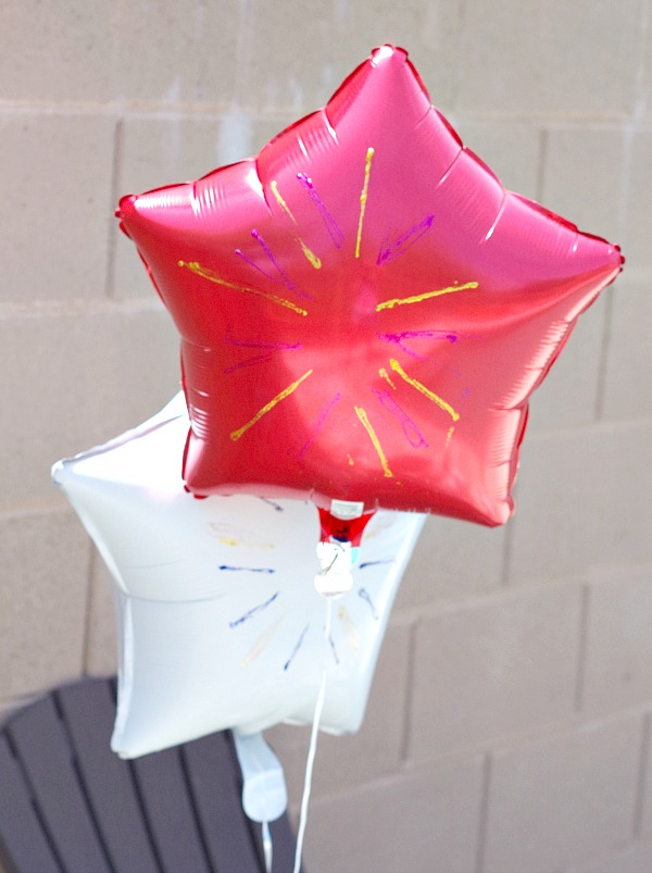 Fun and Simple Firework Balloons