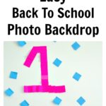 Back To School Photo Backdrop