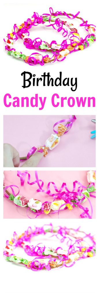Birthday Candy Crown