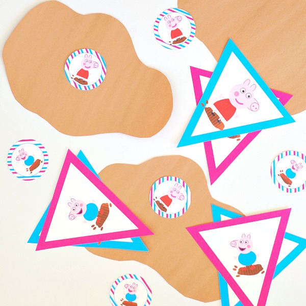 Peppa Pig Party Ideas and Printables