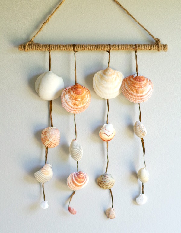 DIY Shell Wall Hanging