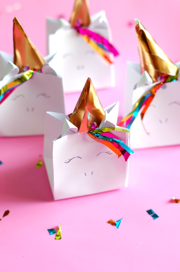 Cute Unicorn Favor Bag