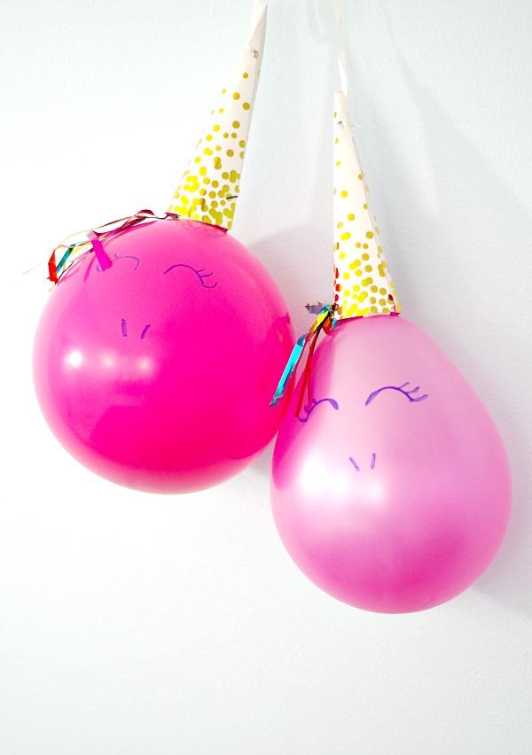 DIY Easy Unicorn Balloons
