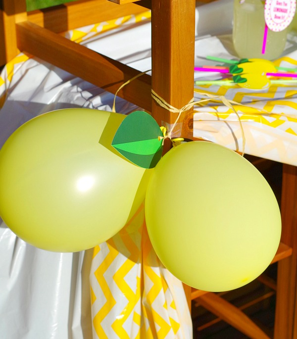 Lemon Balloons