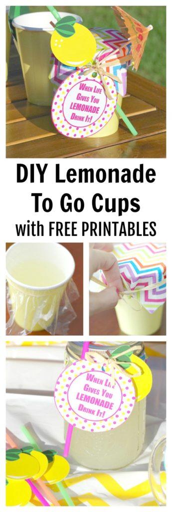 Lemonade To Go Cups