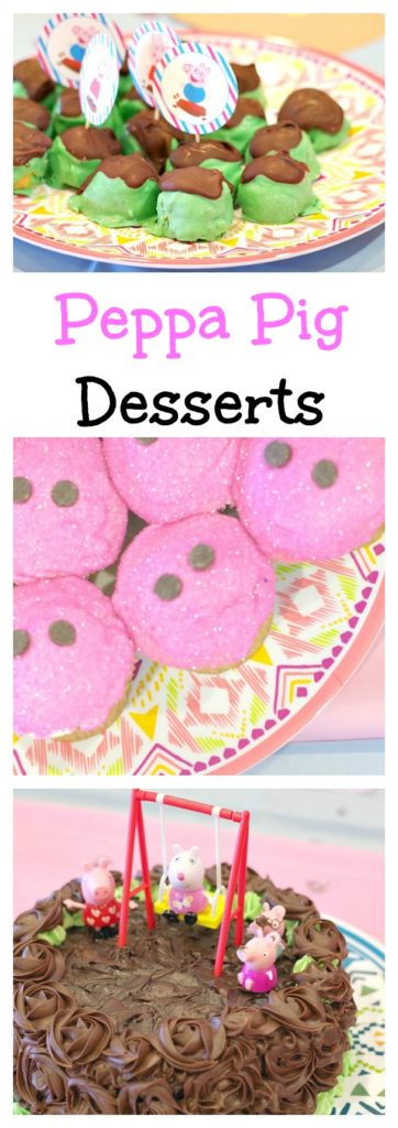 Peppa Pig Desserts