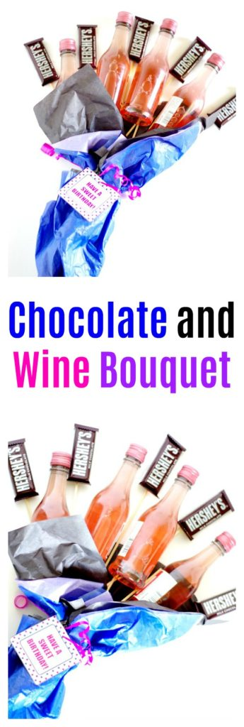 Chocolate and Wine Bouquet