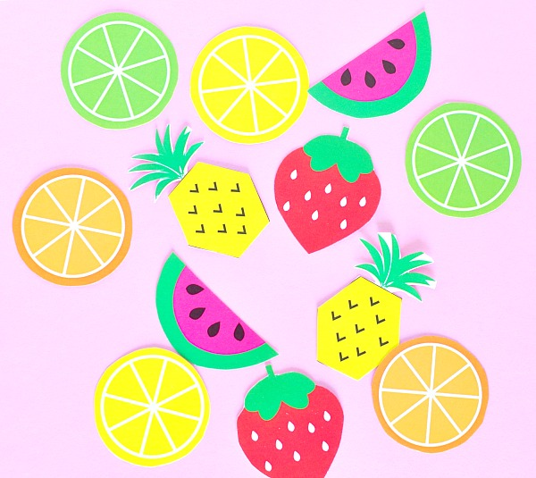 Fruit Party Printable Toppers