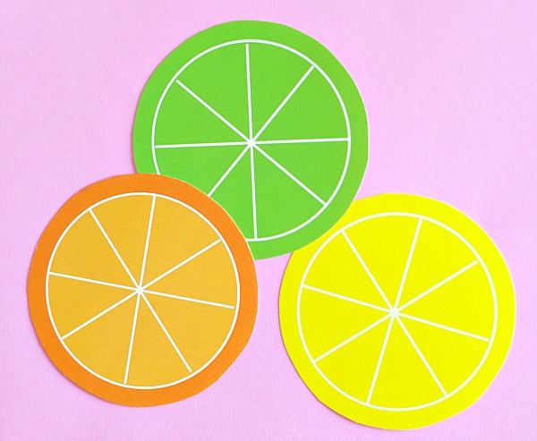 Citrus Fruit Printables