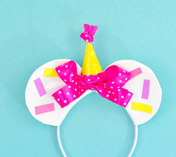 Birthday Minnie Mouse Ears