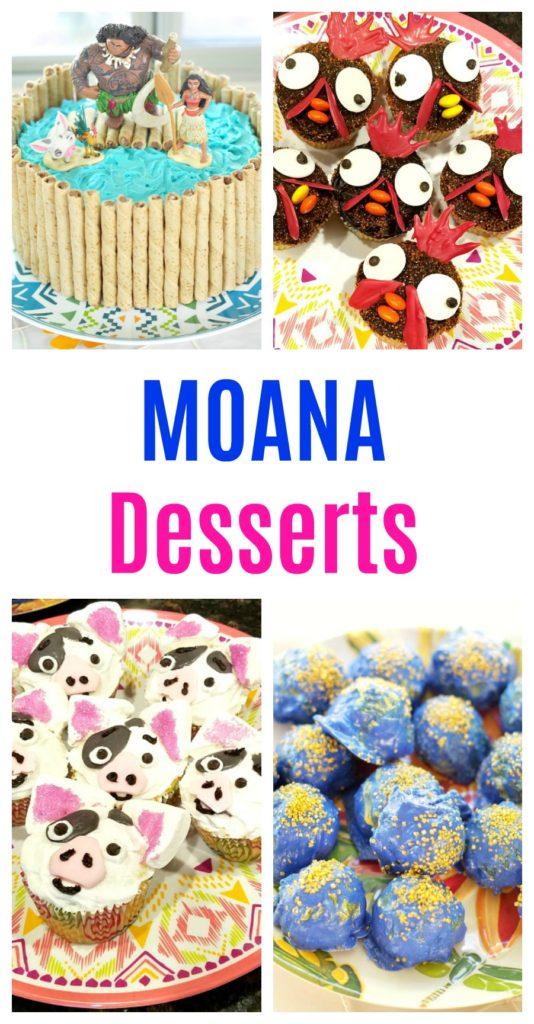 Moana Desserts