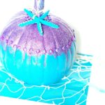 DIY Mermaid Pumpkin