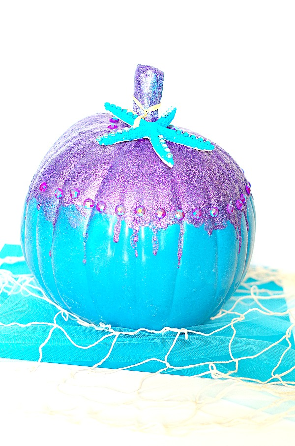 Under the Sea Mermaid Pumpkin