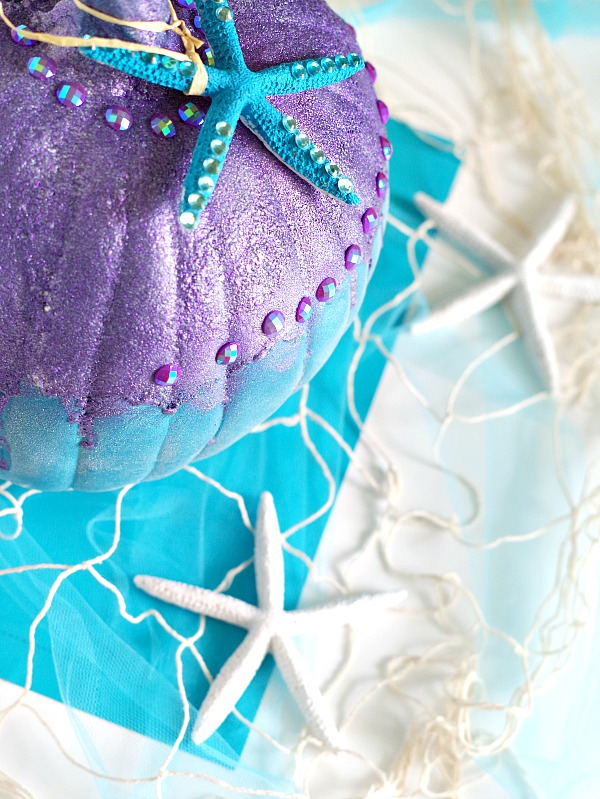 Fun DIY Mermaid Pumpkin