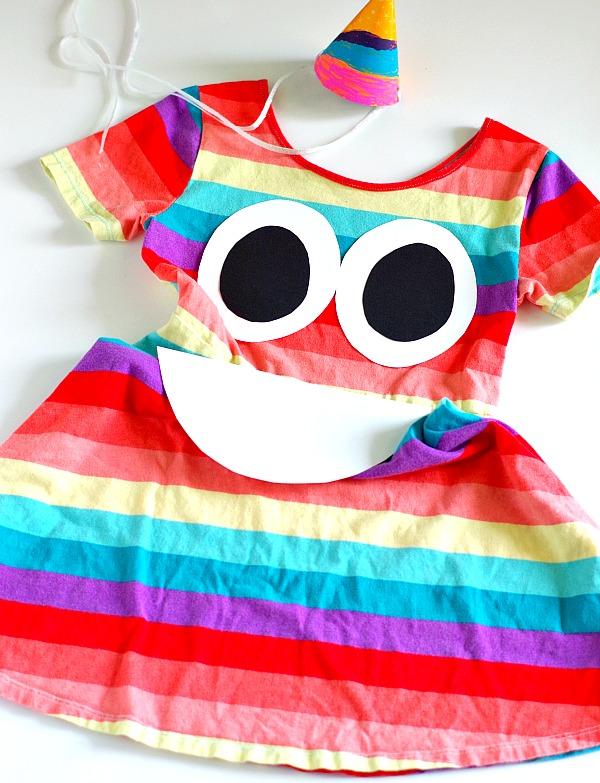 ba3ca0a6b65 DIY Rainbow Poop Emoji Costume – Val Event Gal