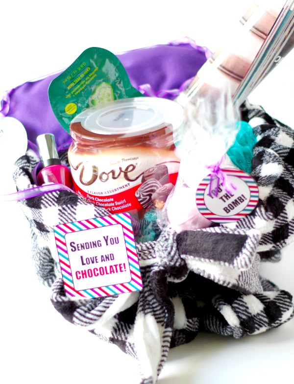 Fun Treat Yourself Gift Basket