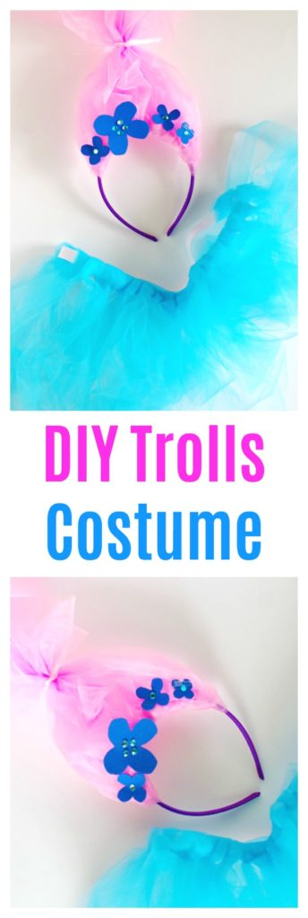 DIY Trolls Costume