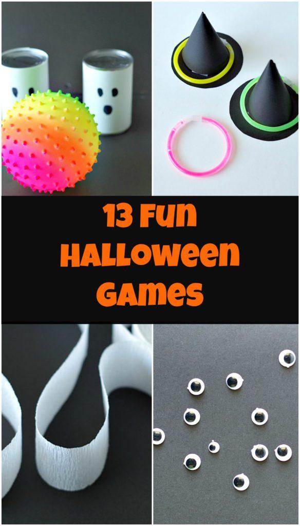 13 Fun Halloween Games