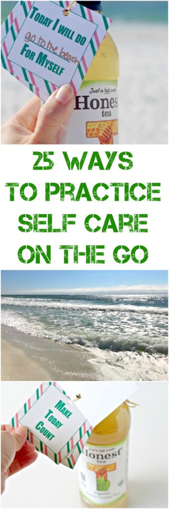 25 Ways To Practice Self Care On The Go