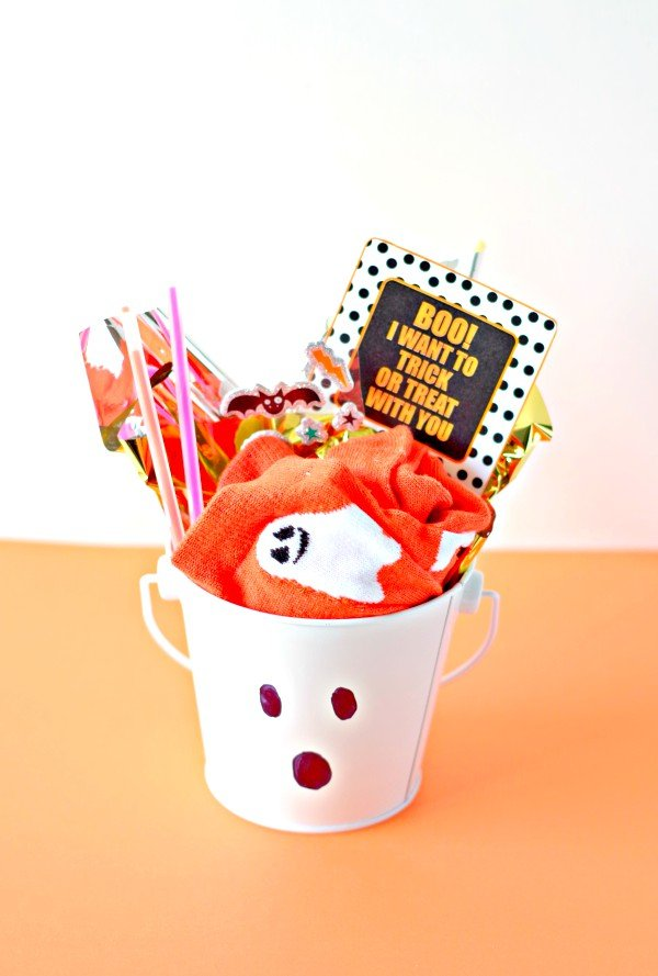 Trick Or Treat Invite Boo Basket