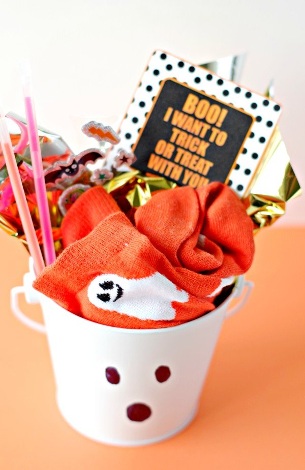 Boo Basket Trick Or Treat Invite