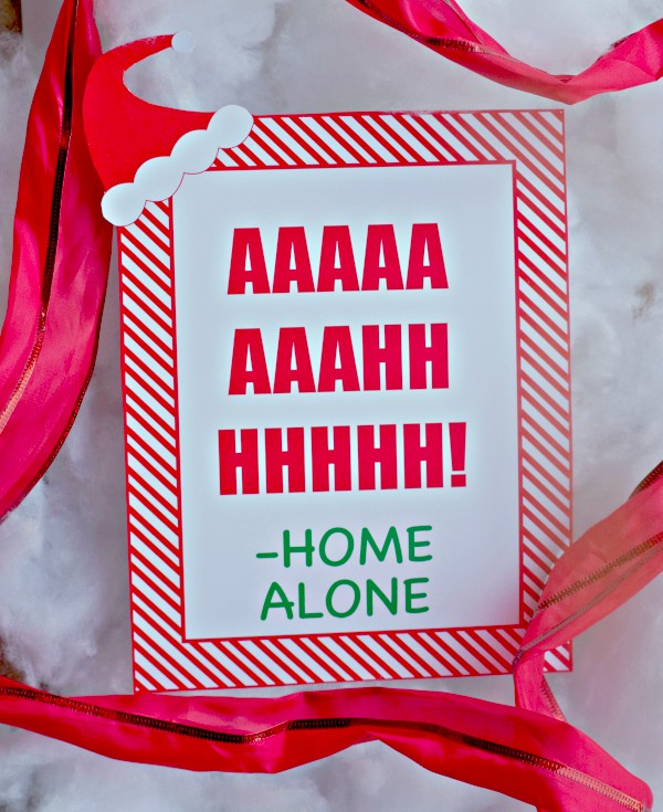 Home Alone Aaah Printable