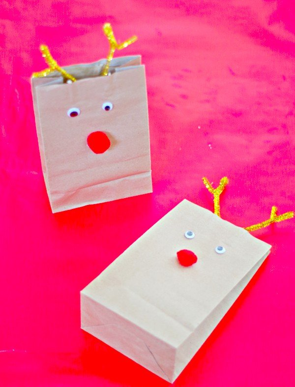 Cute Reindeer Lunch Bags