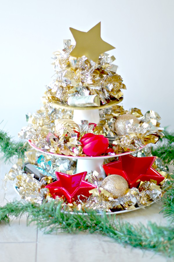Sparkly Christmas Gift Tree