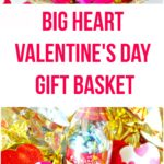 Big Heart Valentine's Day Gift Basket