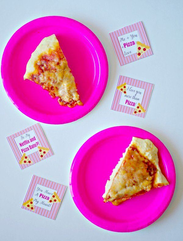 Pizza Date Valentine's Printables