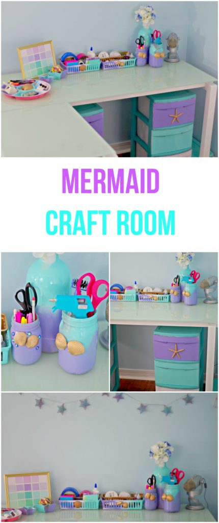 Mermaid Craft Room