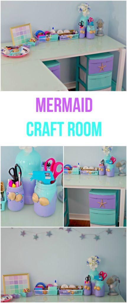 Mermaid Craft Room