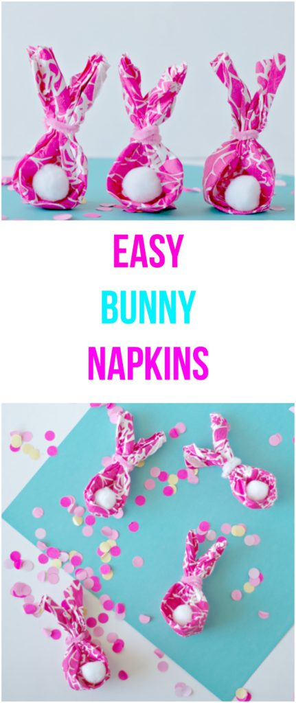 Easy Bunny Napkins