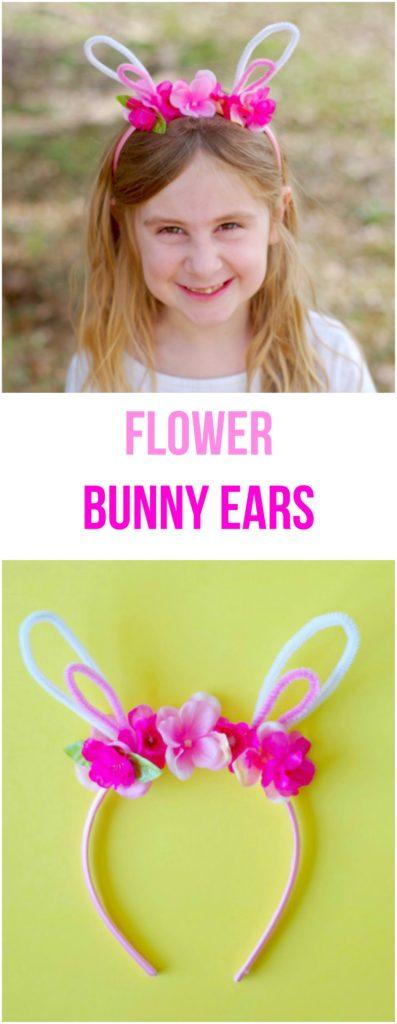 Flower Bunny Ears