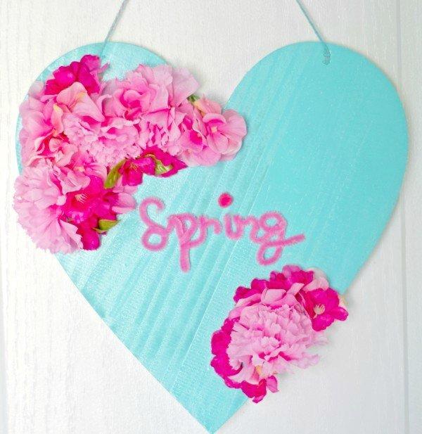 Spring Flower Sign