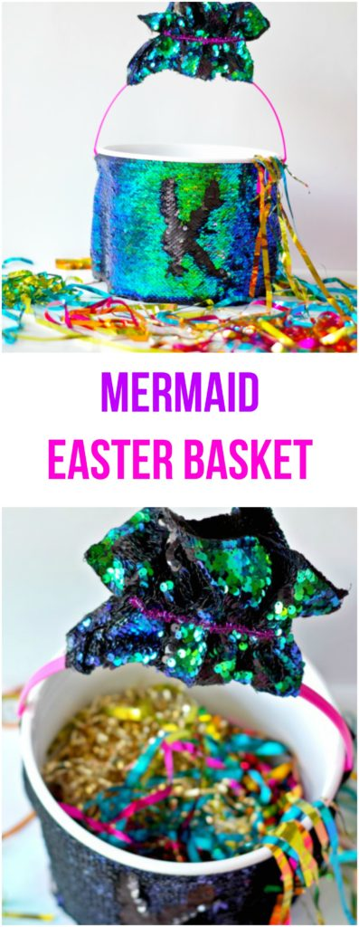 Mermaid Easter Basket