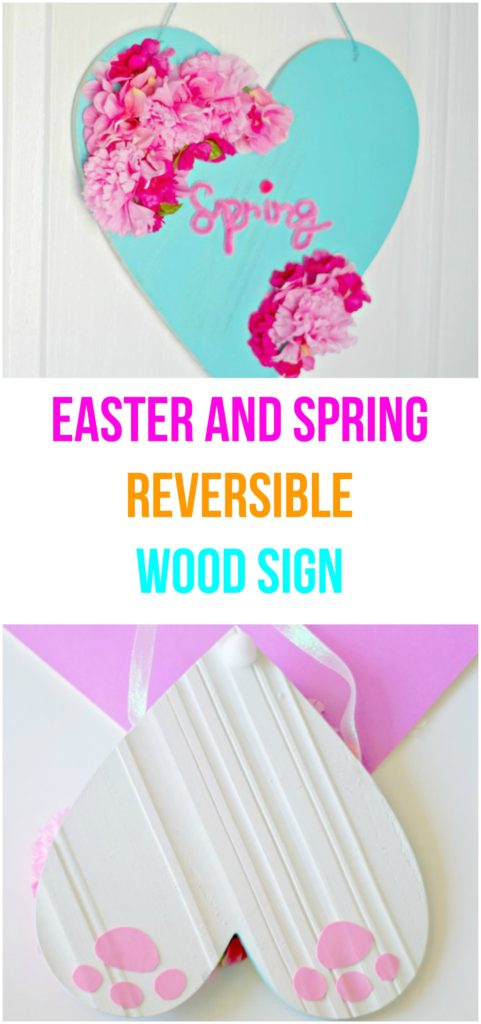 Spring Wood Sign