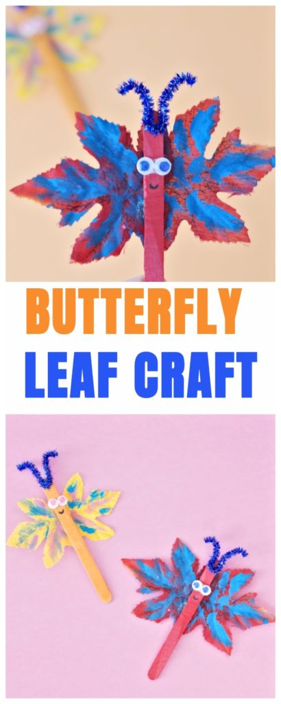 Butterfly Leaf Craft