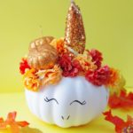 DIY Fall Unicorn Pumpkin