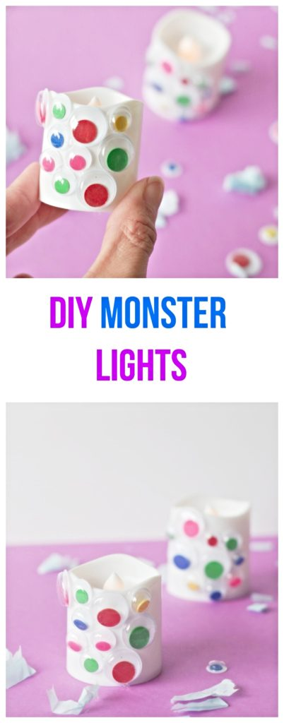 DIY Monster Lights