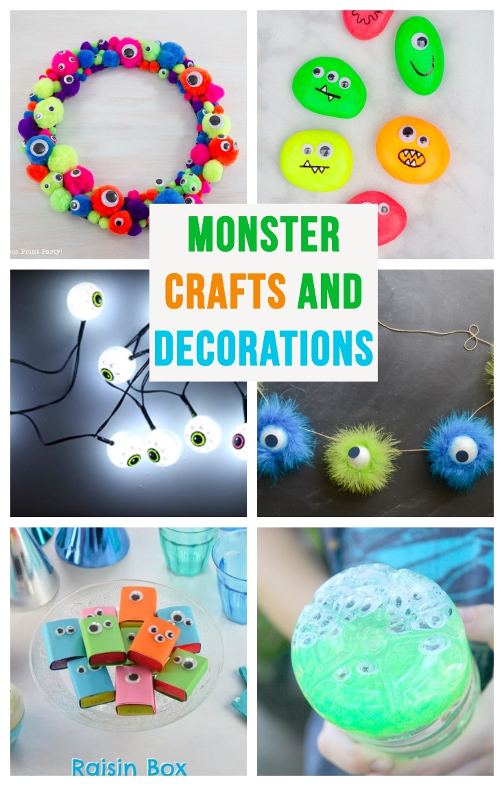 Monster Party Craft And Decorations